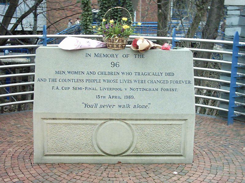 Мемориал Хиллсборо