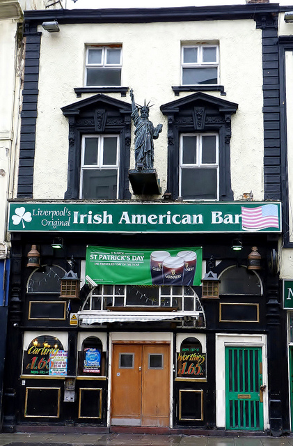 Irish American Bar Ливерпуль