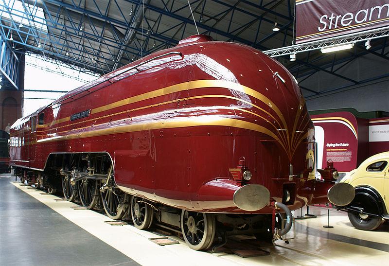 Национальный железнодорожный музей Йорк Йорк 20111001093932 800px 6229 Duchess of Hamilton at the National Railway Museum