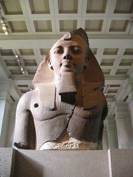 Рамзес II в Британском музее
