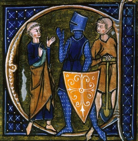 Средневековые англичане выделяли в своём обществе три сословия: молившееся духовенство, воевавшее рыцарство и работавшее на земле крестьянство.