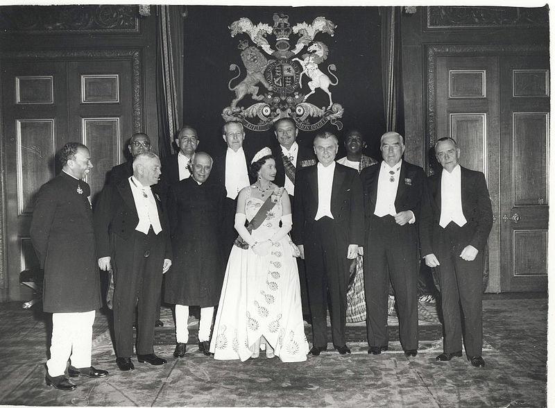 Встреча Елизаветы II с главами стран Содружества в 1960 году
