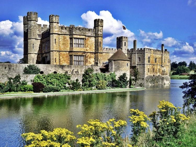 Замок Лидс Англия