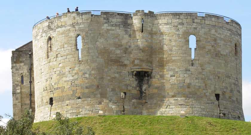 крепость Клиффорд Йорк Йорк York Clifford Tower