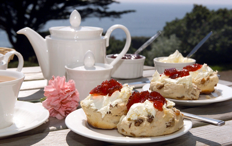 Английский чай cream tea