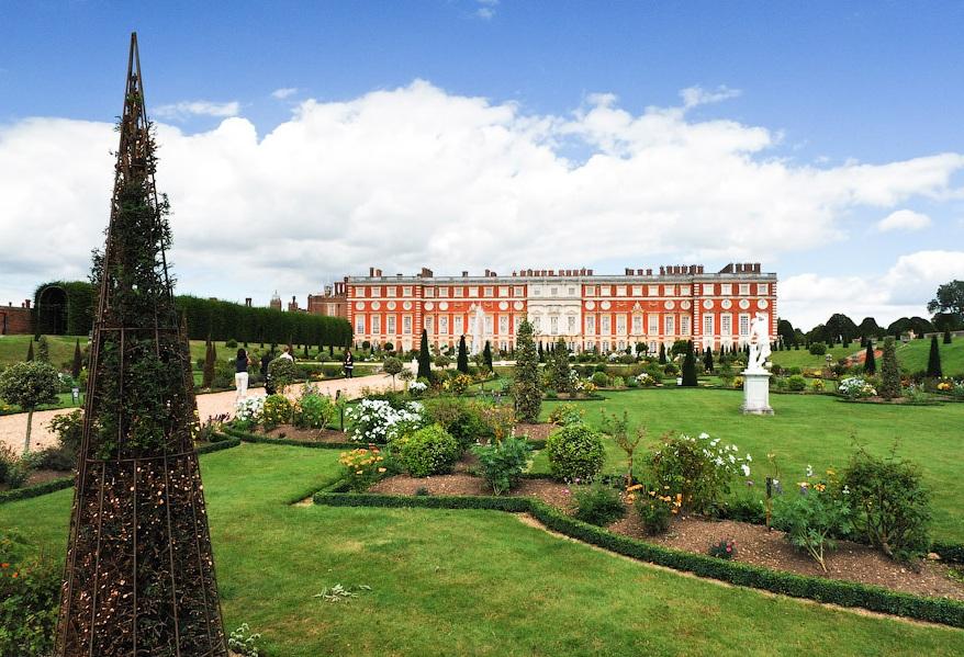 Сад Двореца