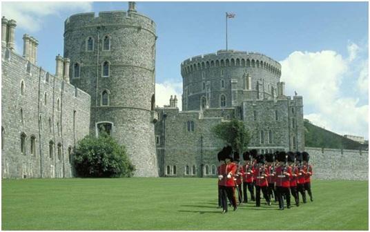 Замок Виндзор в Лондоне