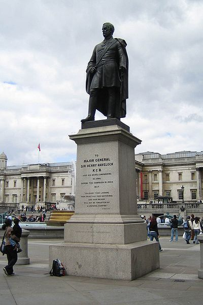 Памятник Генри Хейвлоку