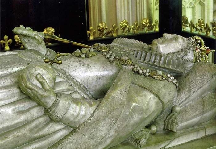 Гробница Елизаветы Тюдор