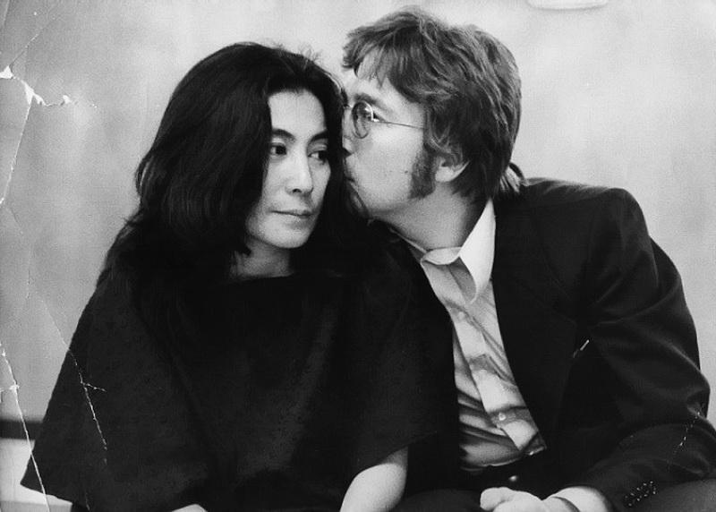 John Lennon и Йоко Оно