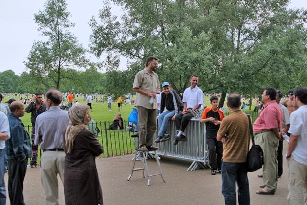 Уголок оратора в Гайд-парке