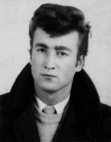 Джон Леннон в молодости