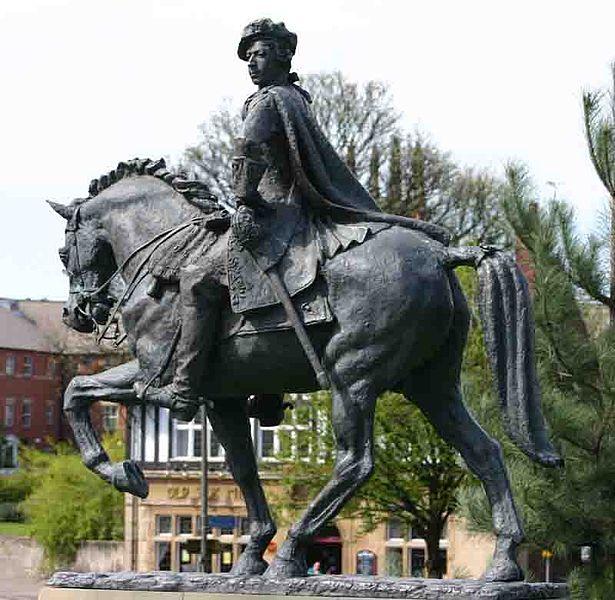 Памятник Карлу Эдуарду Стюарту