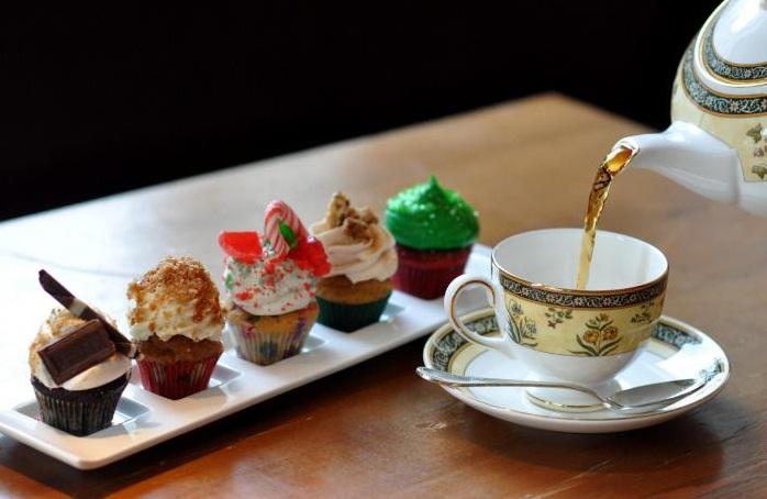 Пятичасовой чай в Англии