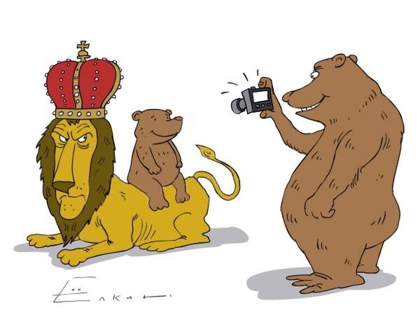 Русские в Англии