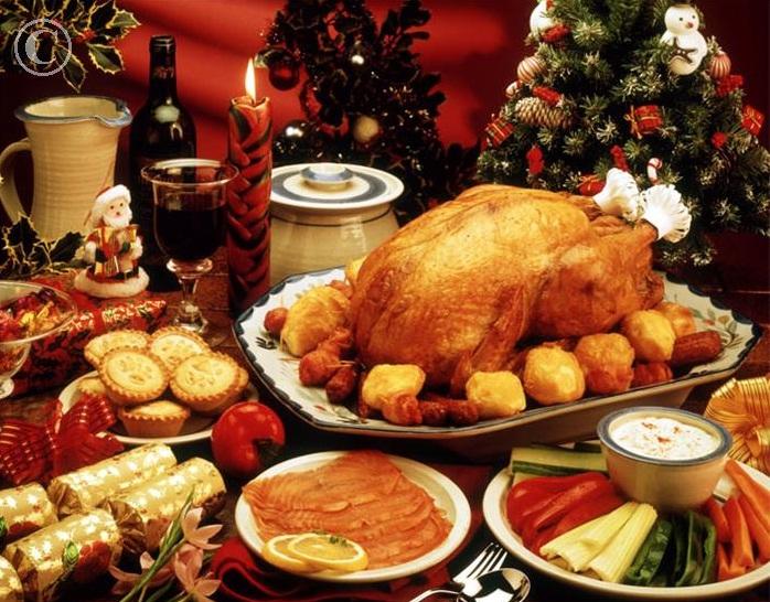 Блюдо на рождество принято