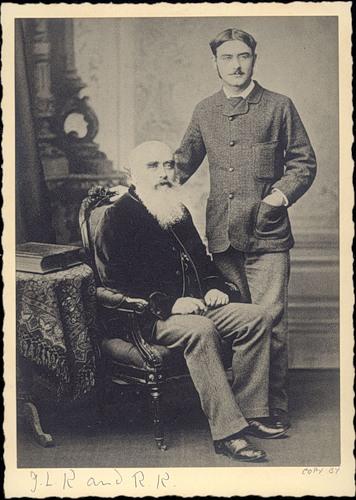 Киплинг и его отец Джон Локвуд Киплинг