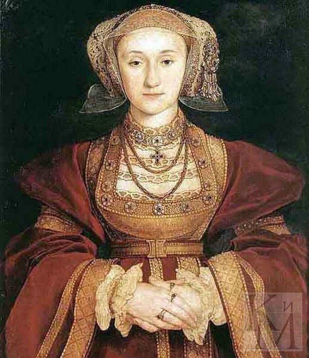 Четвертая жена Генриха - Анна Клевская