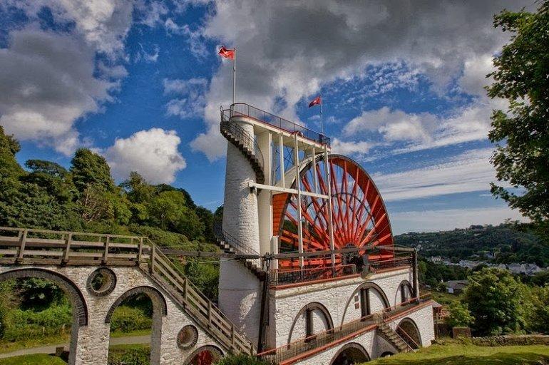 Лакси - самое большое в мире водоподъемное колесо
