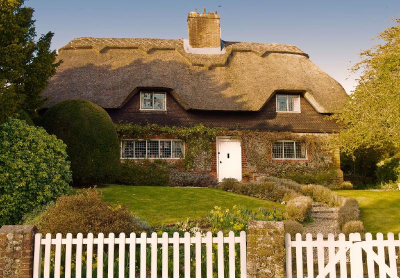 Сельский домик в Англии