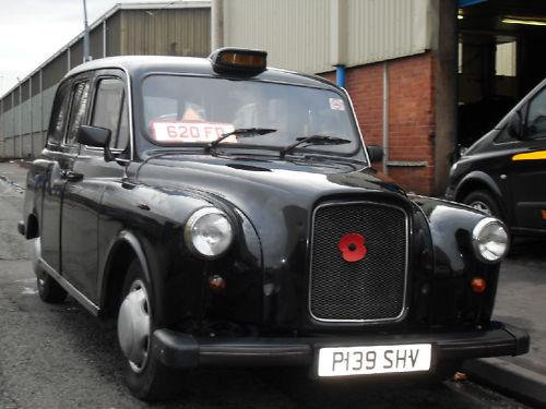 Английское такси марки LTI