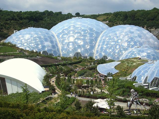 «Райский сад» или проект Эдем в Корнуолле