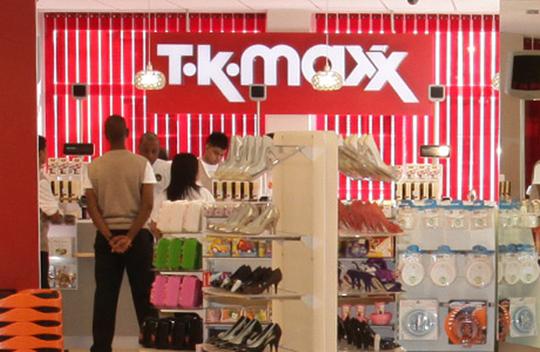 Сеть магазинов TK Maxx