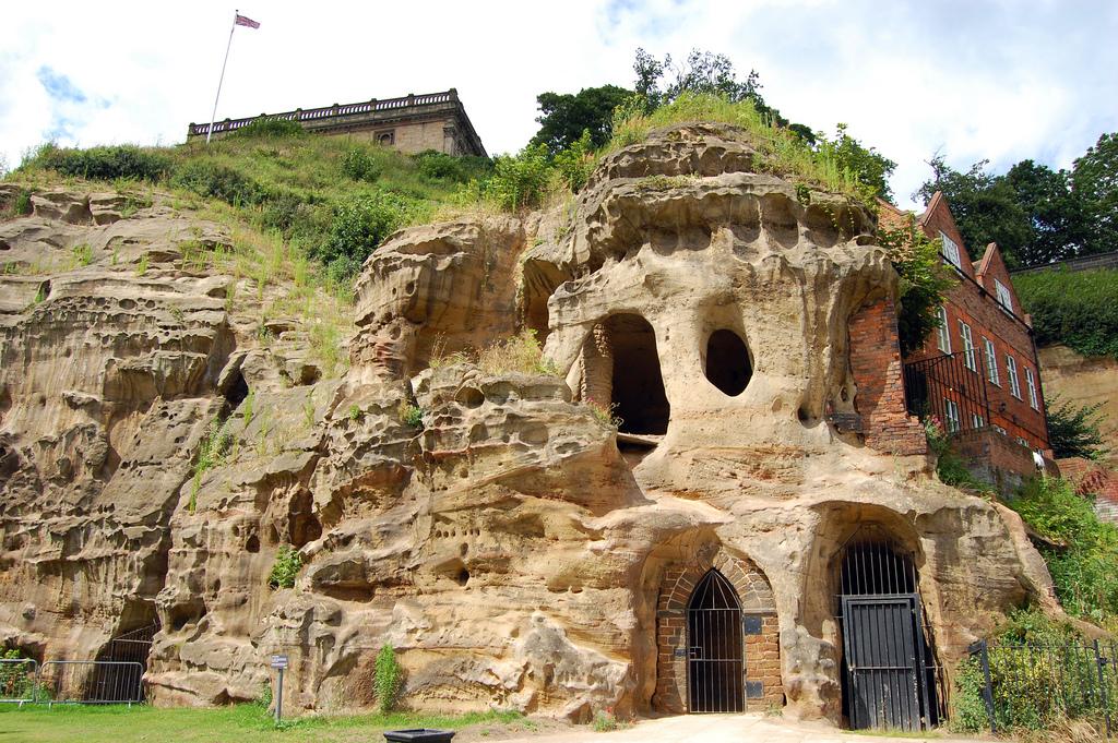 Пещеры в городе Ноттингем