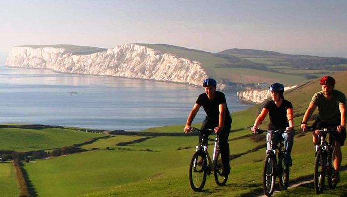 Путешествие по Англии на велосипеде