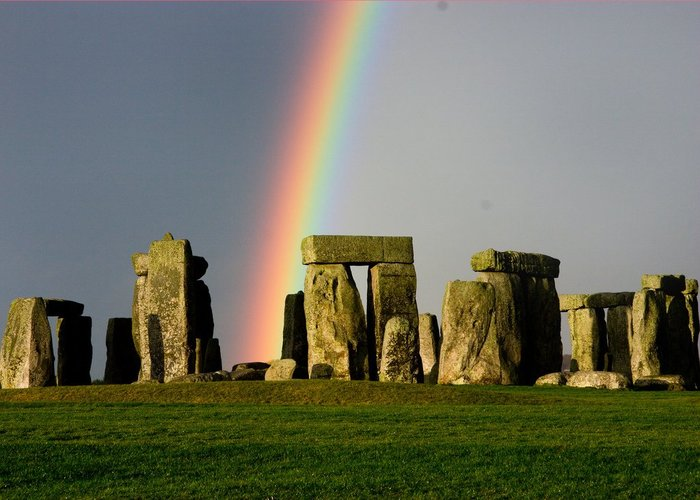 Популярная достопримечательность Англии - камни Стоунхендж