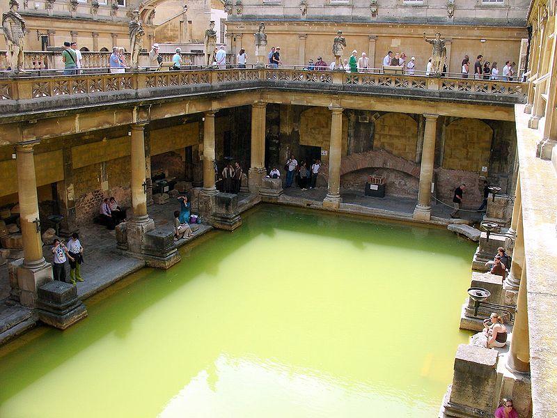 Римские бани - город Бат