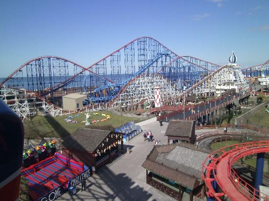 Парк развлечений Pleasure Beach Blackpool
