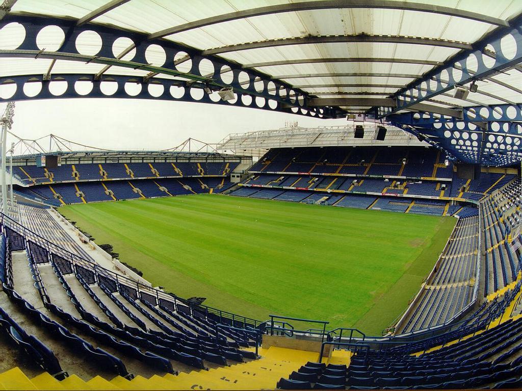 Stamford Bridge - трибуны