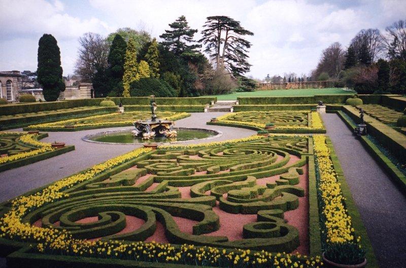 Итальянский сад - дворец Бленхейм