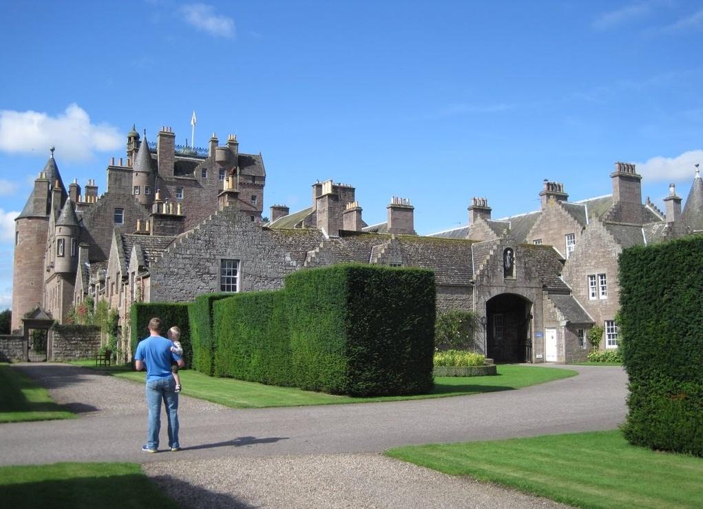 Замок Гламис (Шотландия)