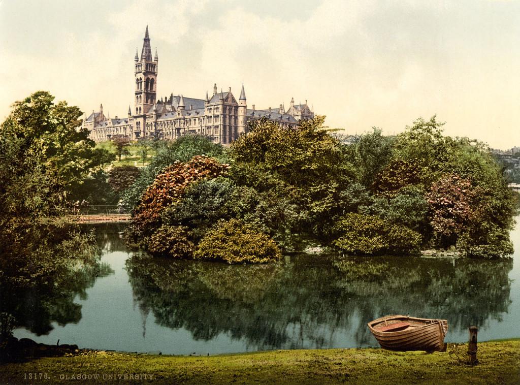 University of Glasgow в 1985 году