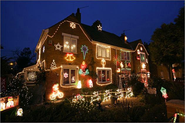 Рождественский дом в Англии