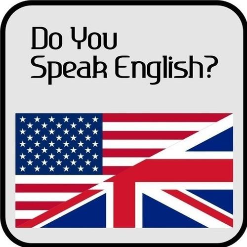 говорить по английски