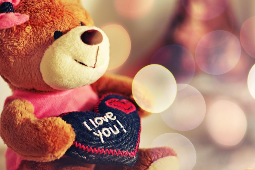 Медвежонок Teddy - популярный подарок на День Святого Валентина в Англии