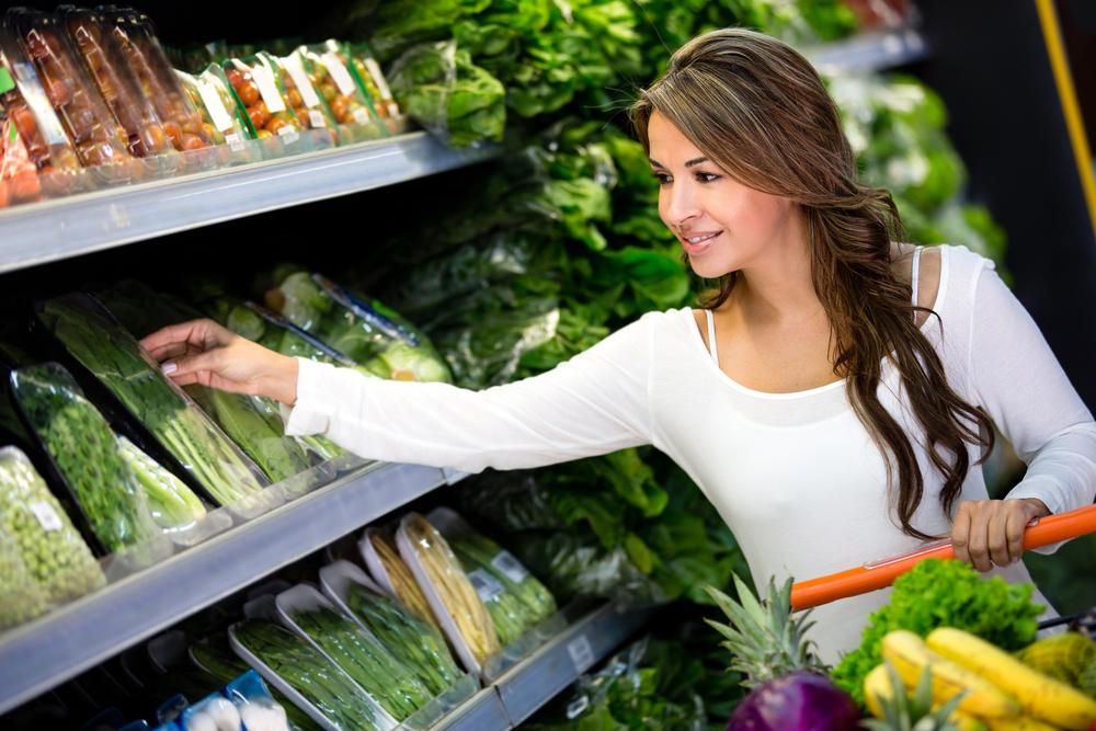 Цены на еду в Англии
