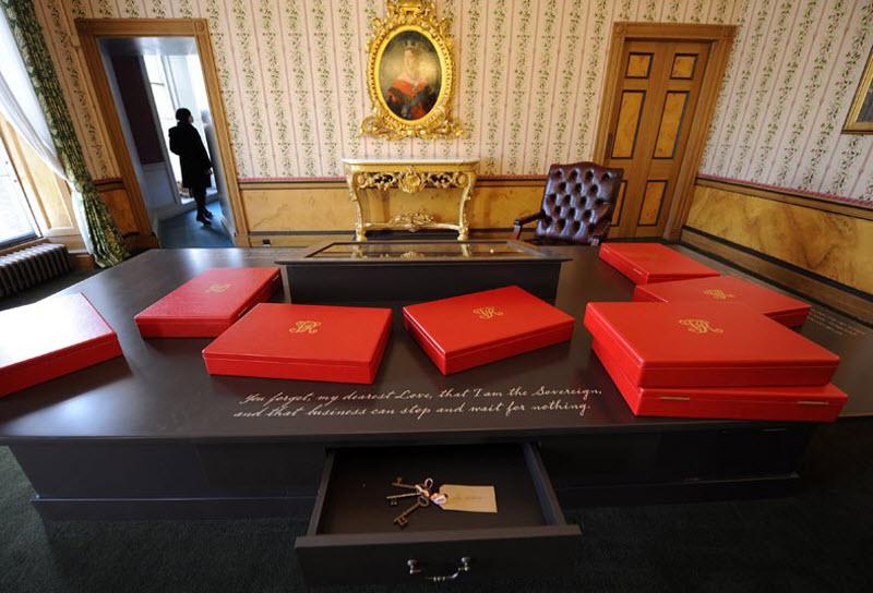 Кабинет королевы Виктории